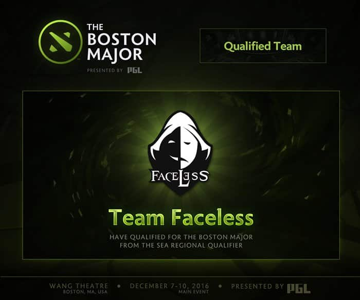 the boston major team faceless