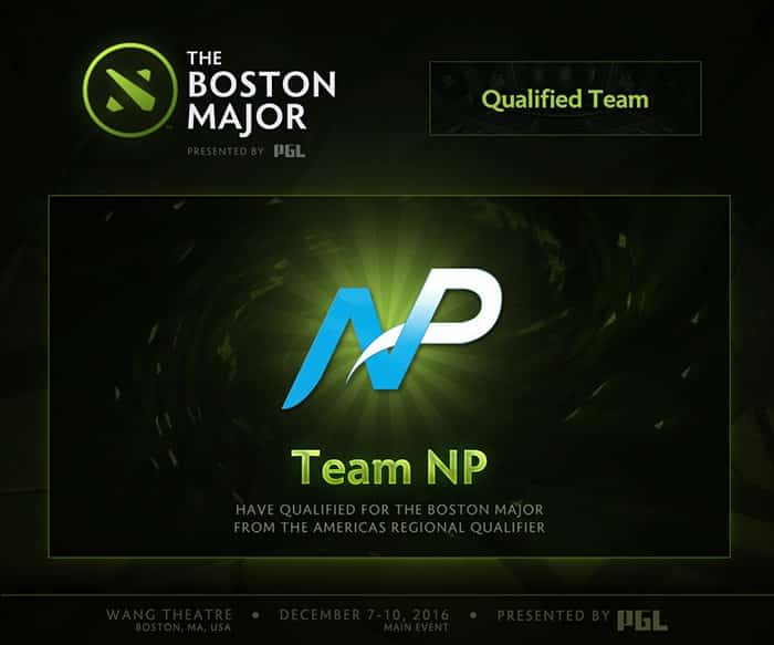 the boston major team np