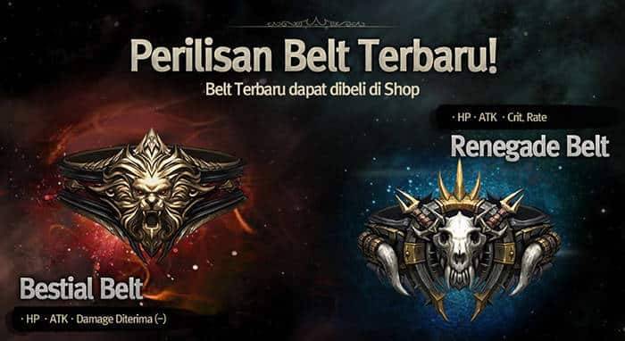 evilbane bestial belt renegade belt