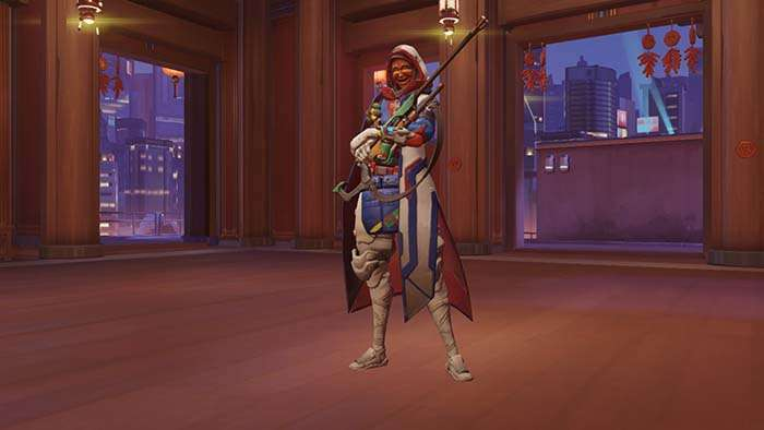 ana year of the rooster skin