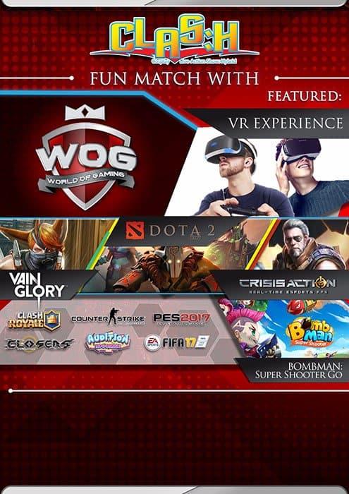 clash wog 2017 collaboration event