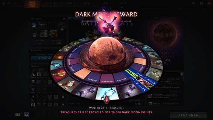 dota 2 dark moon roulette