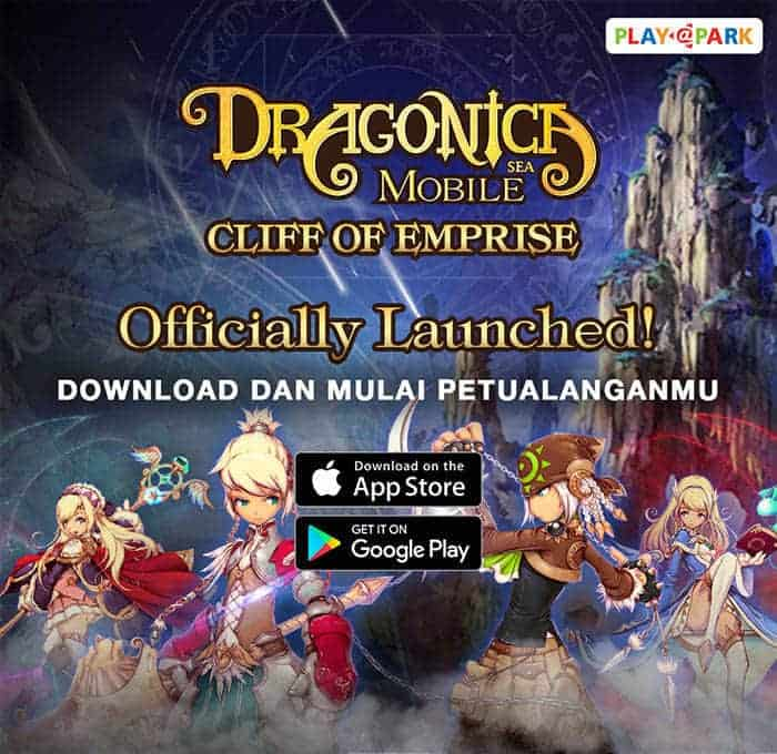 dragonica mobile launch banner