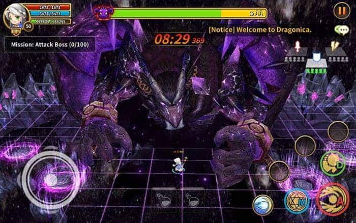 dragonica mobile new world boss
