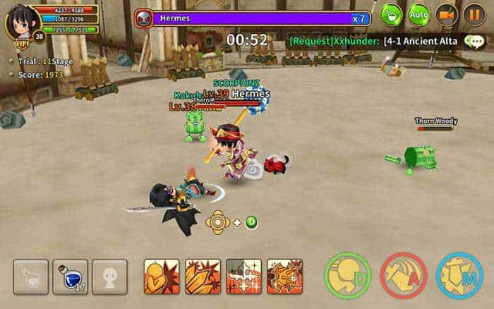 dragonica mobile real time pvp