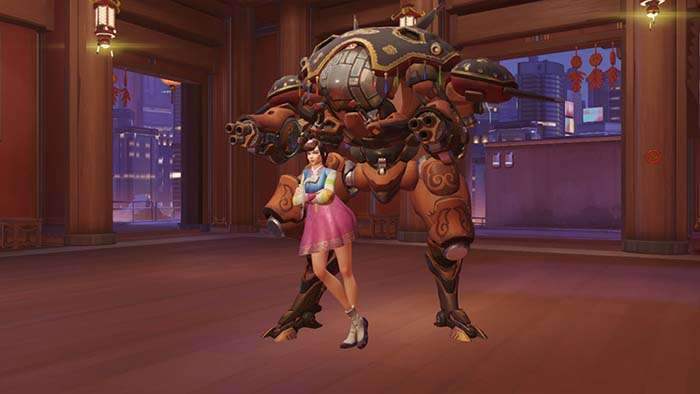 dva year of the rooster skin