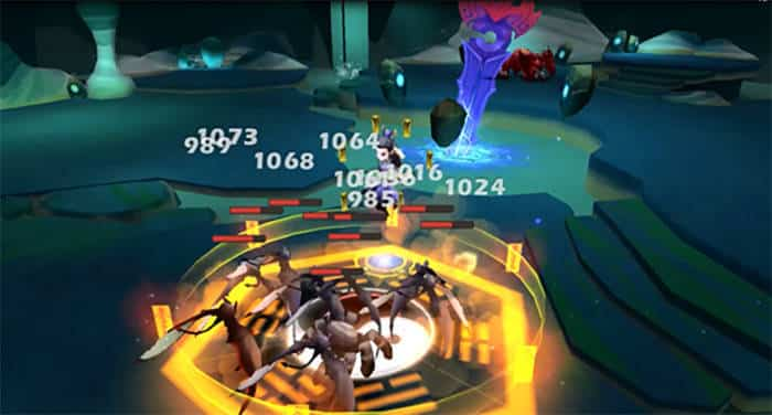 final odyssey battle gameplay