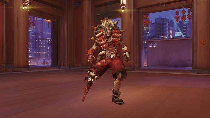 junkrat year of the rooster skin