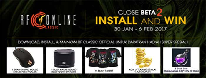 rf classic indonesia cbt 2 event install and win