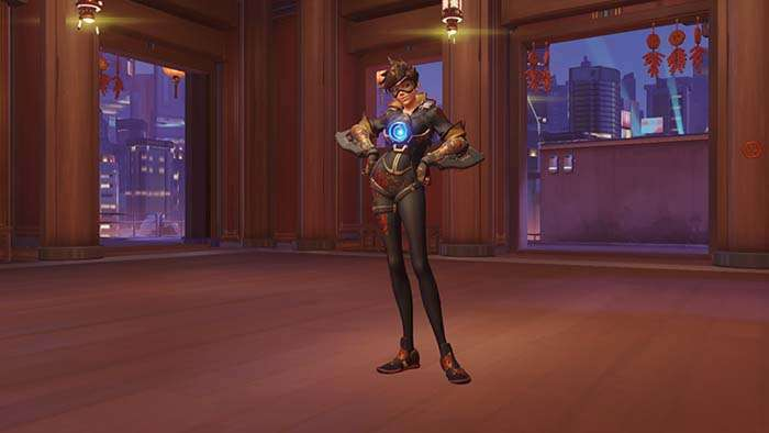 tracer year of the rooster skin