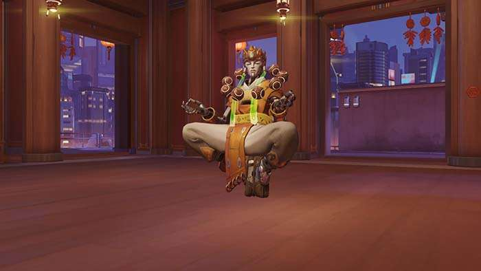 zenyatta year of the rooster skin