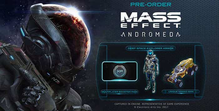 mass effect andromeda preorder