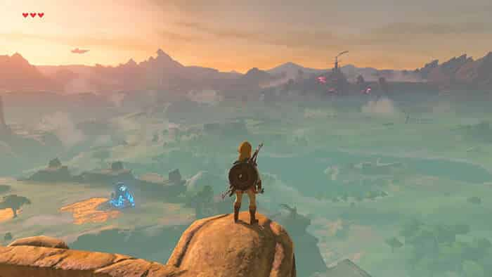 the legend of zelda breath of the wild environment