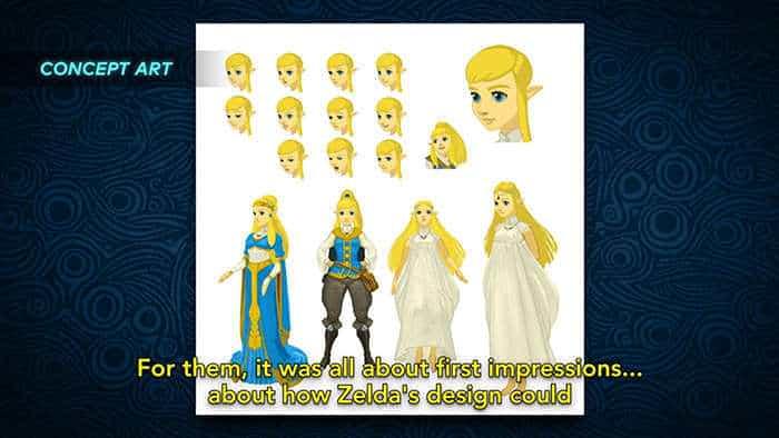 the legend of zelda breath of the wild zelda concept