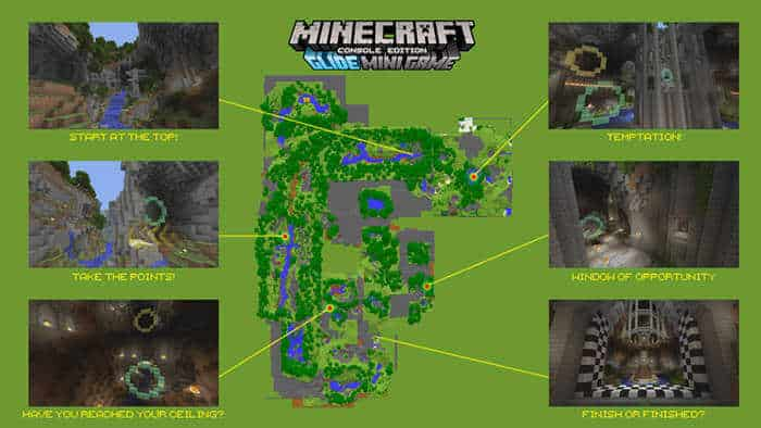 minecraft glide mINIGAME tips and tric