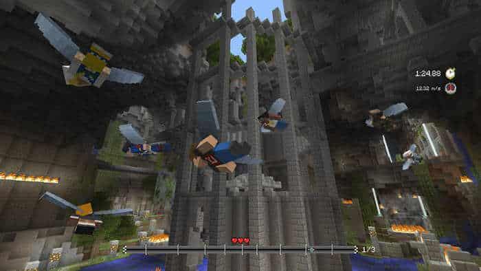 minecraft glide mINIGAME race
