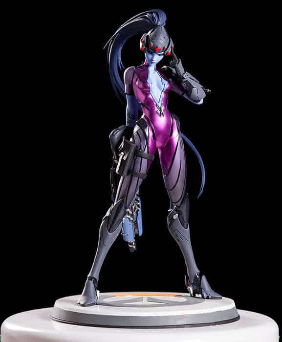 overwatch collectible statue widowmaker