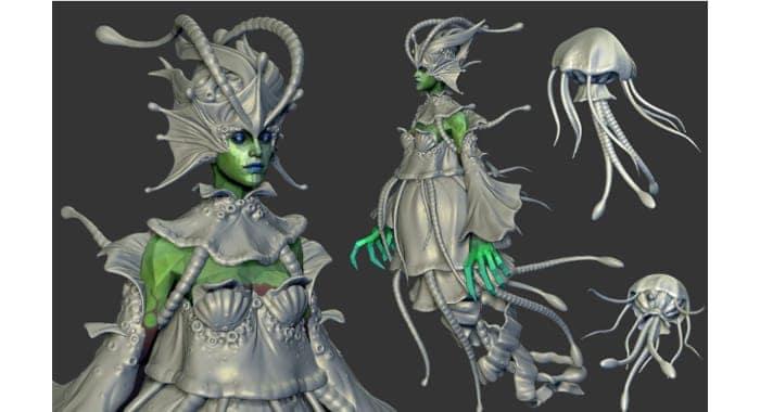 dota 2 prototype - death prophet