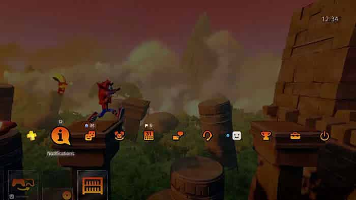 crash bandicoot n sane trilogy sunset vista dynamic theme