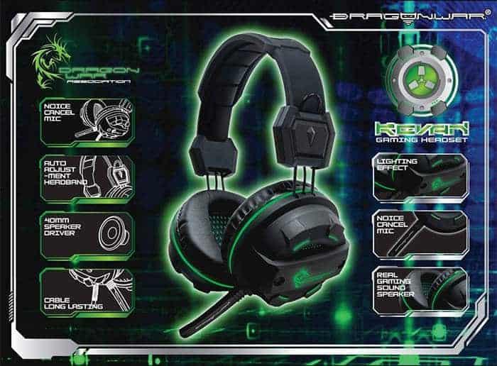 dragon war headset