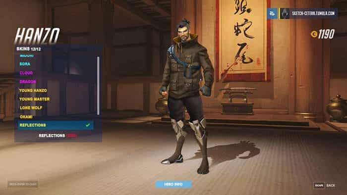 overwatch hanzo skin fanmade