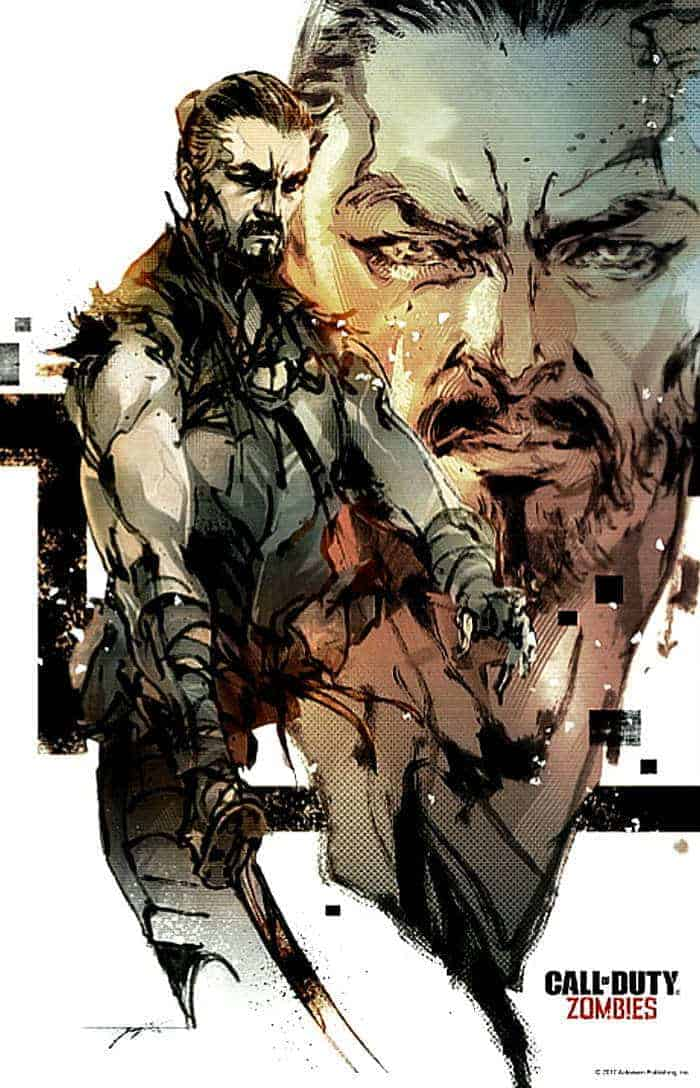 call of duty black ops iii zombies chronicles yoji shinkawa poster