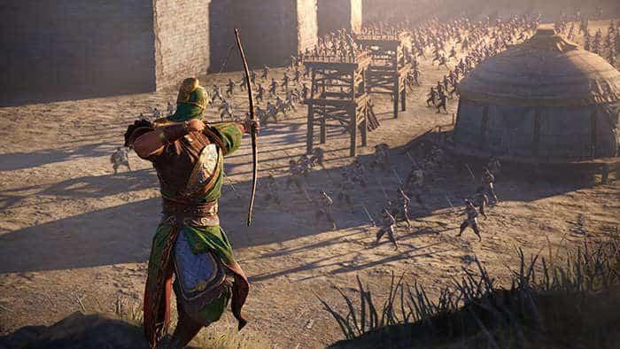 dynasty warrior 9 battle