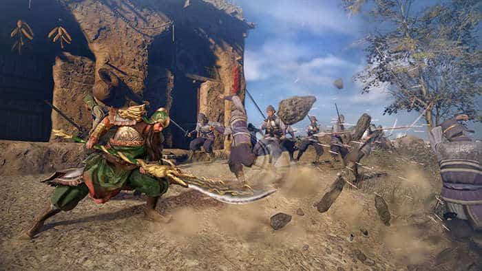 dynasty warrior 9 guan yu action