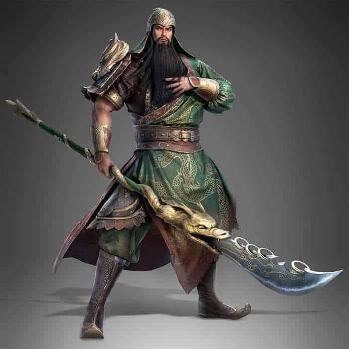 dynasty warrior 9 guan yu