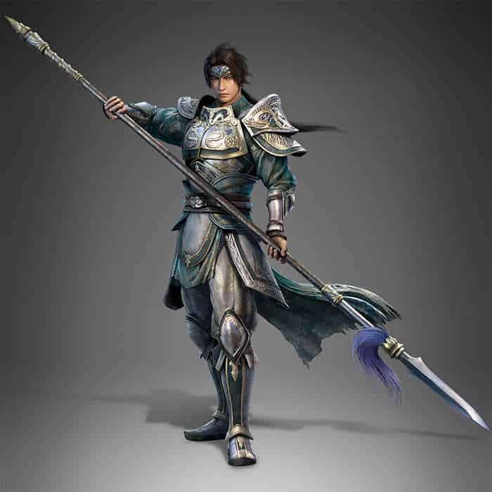 dynasty warrior 9 zhao yun