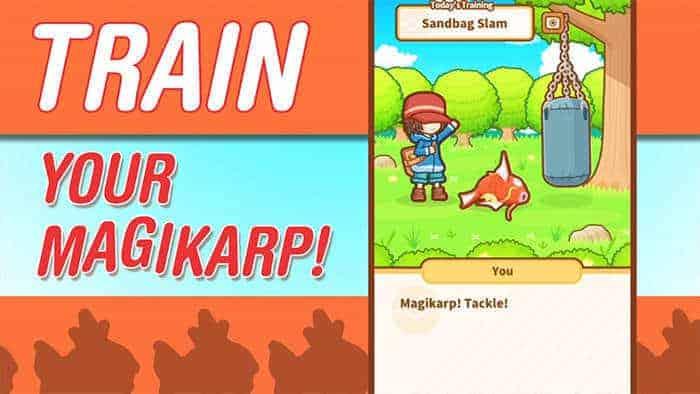 magikarp jump training