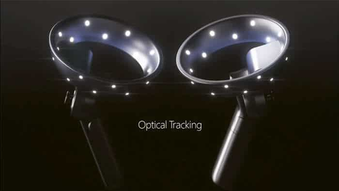 motion controllers mixed reality optical