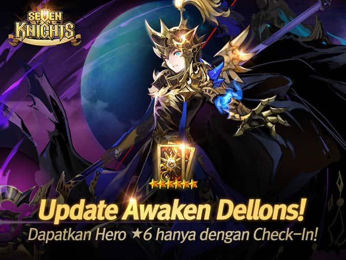 seven knights update awaken dellons