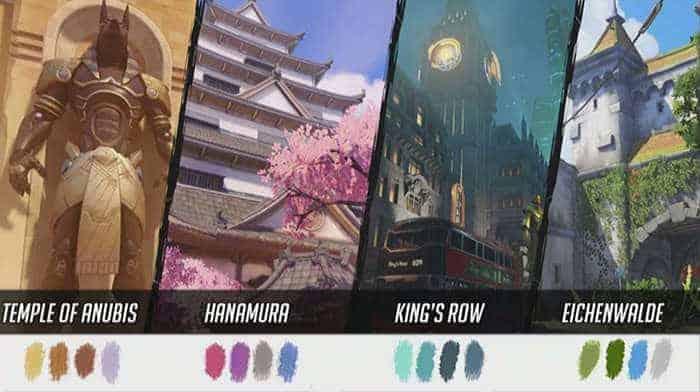 overwatch maps palette