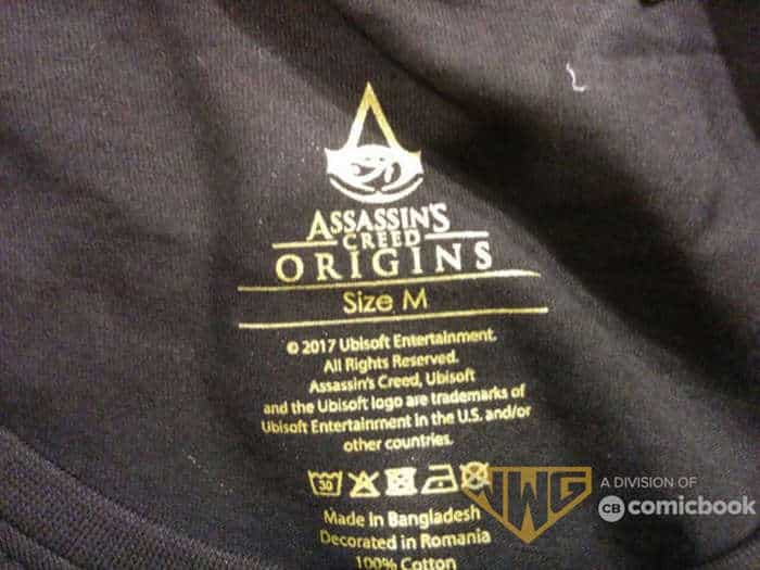 assassin's creed origins leak shirt