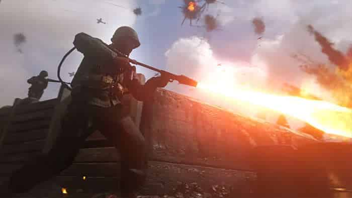 call of duty: wwii new trailer