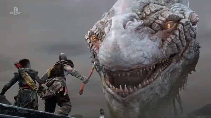 god of war 4 new trailer screenshot