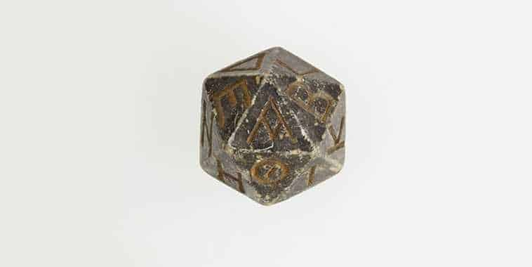 20 Sided Ancient Dice