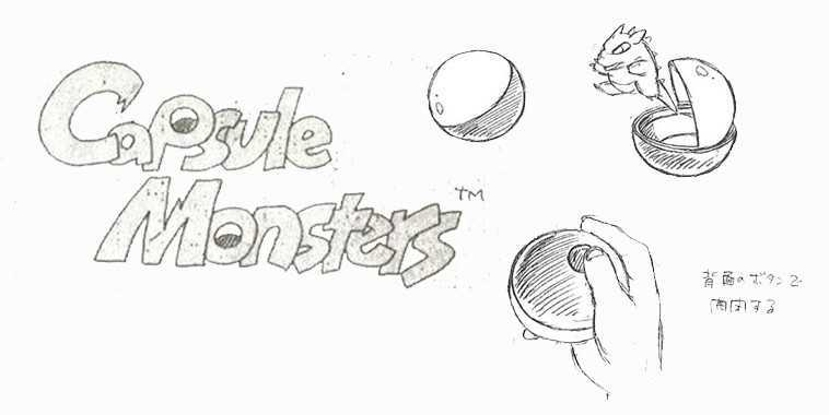 Capsule Monster - Pokemon Early Concept