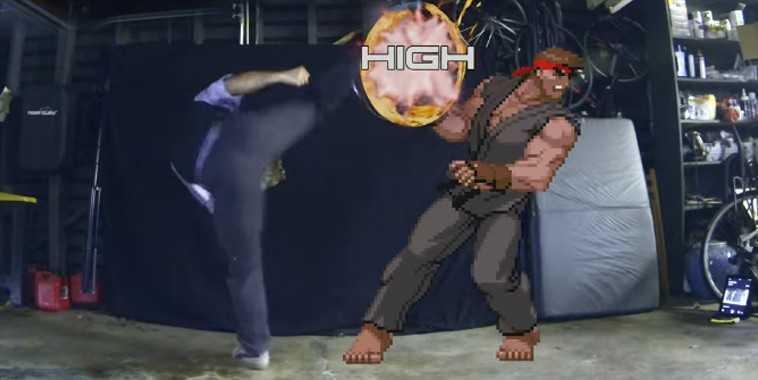 Devil Kazuya vs. Evil Ryu