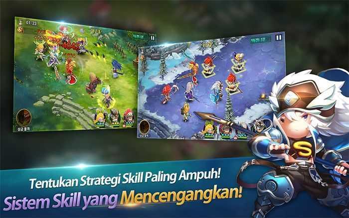 mystic kingdom indonesia netmarble strategy battle