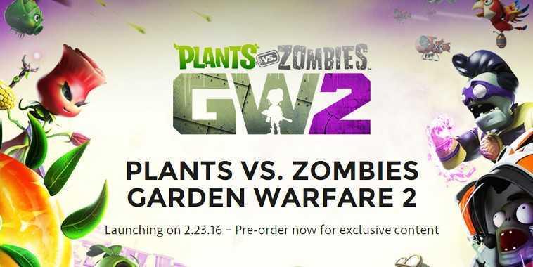 Plants vs. Zombies: Garden Warfare 2 open beta