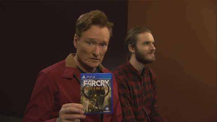 Conan PewDiePie play Far Cry Primal