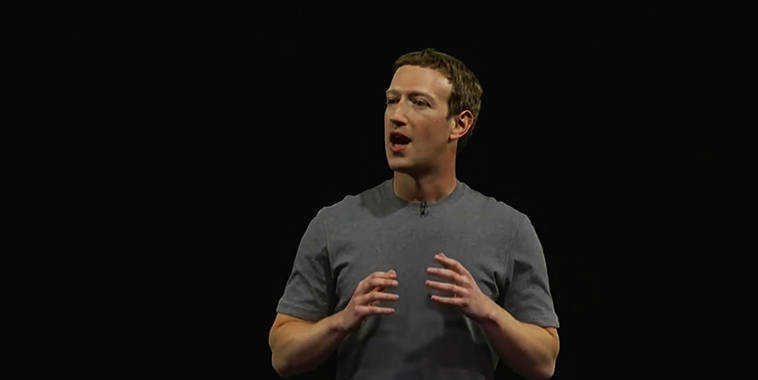 Mark Zuckerberg Presentation @ Barcelona