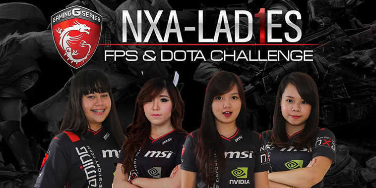 NXA-Ladies FPS & DotA Challenge