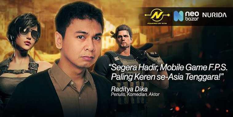 Raditya Dika - Ambassador Papa Bravo