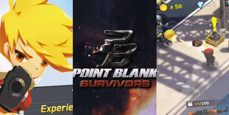 point blank spin off games