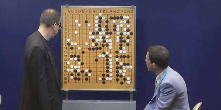AlphaGo match