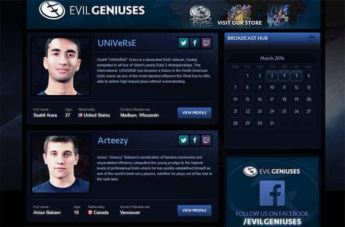 evil-geniuses-website-roster-dota-2