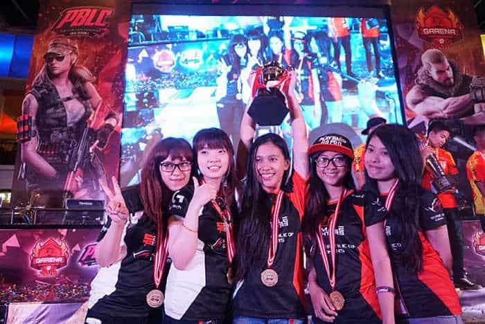 female fighters point blank ladies championship 2016